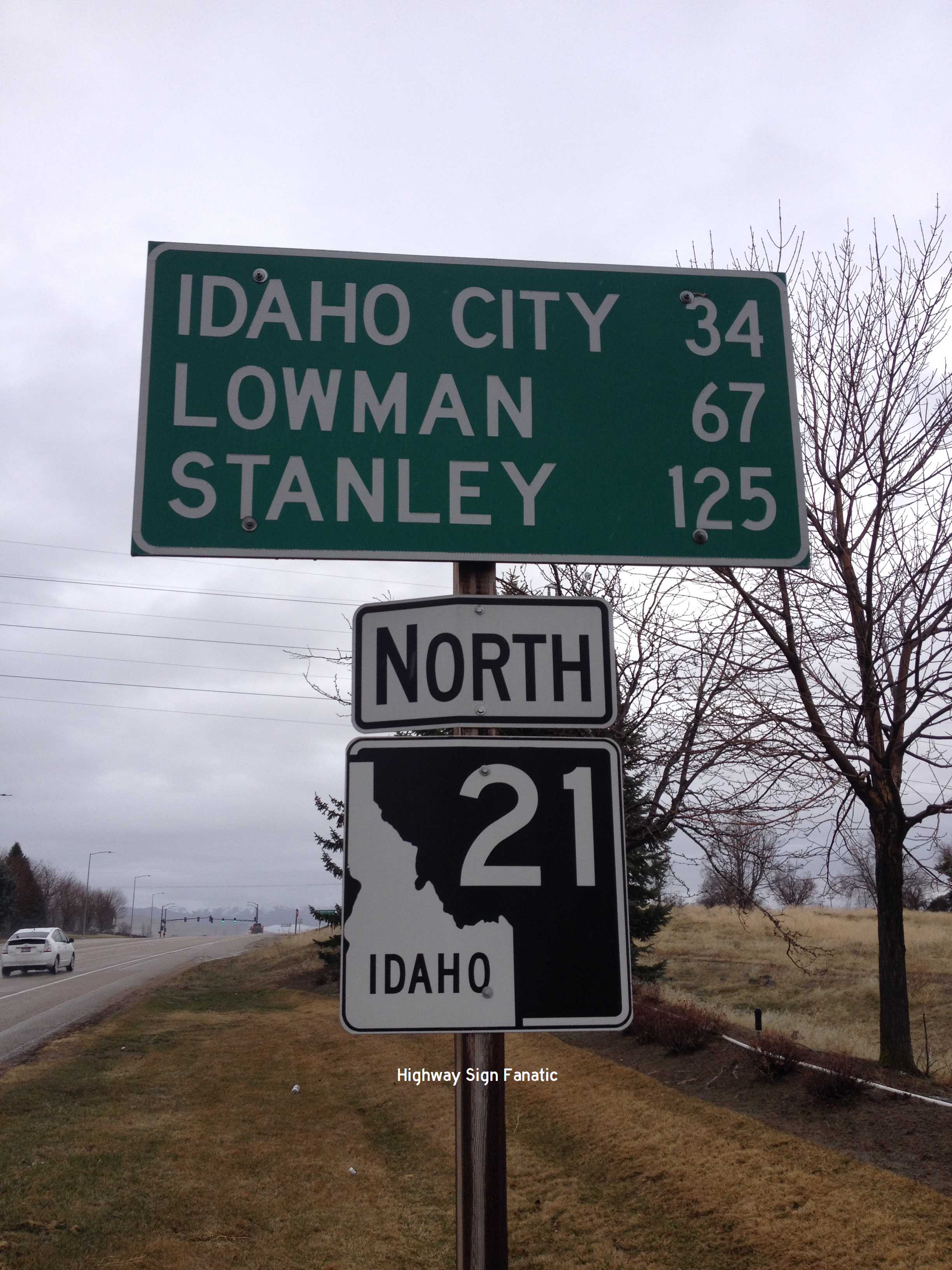 IDAHO HIGHWAY 21 – HIGHWAY SIGN FANATIC